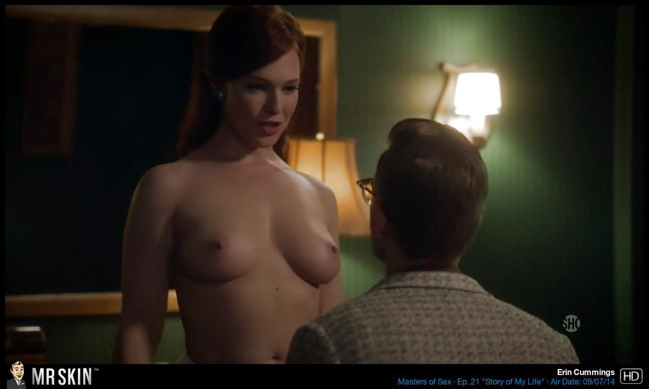 nude scenes in masters of sex