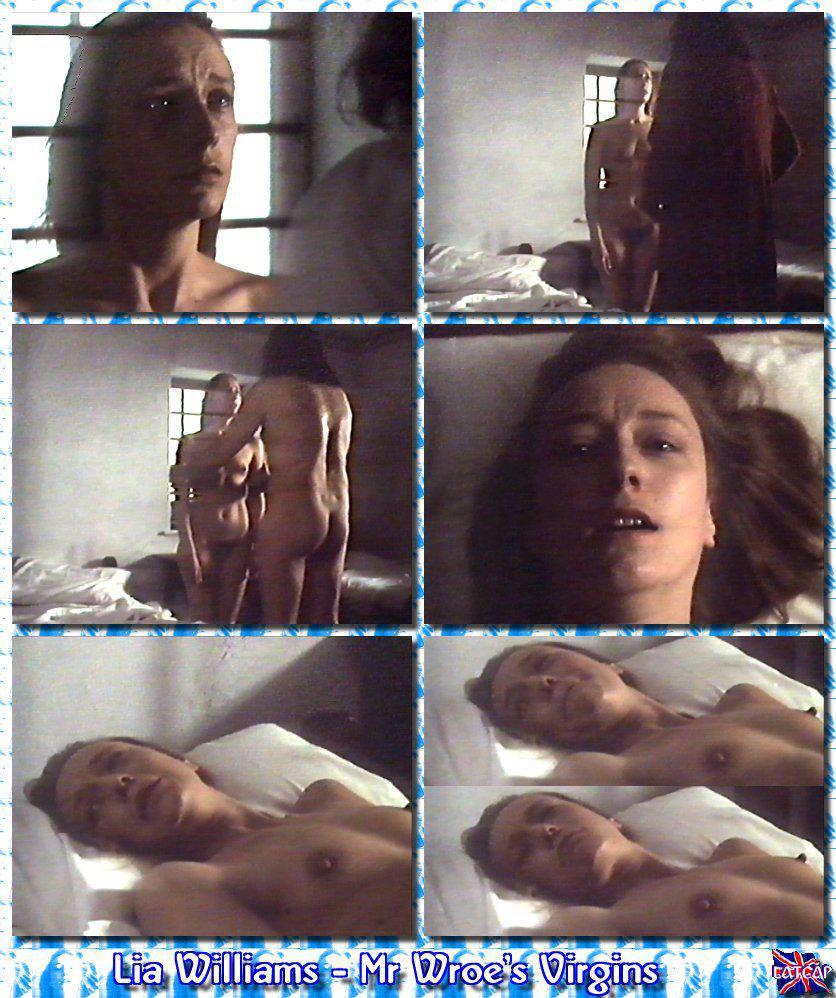 Lia williams dirty nude #4