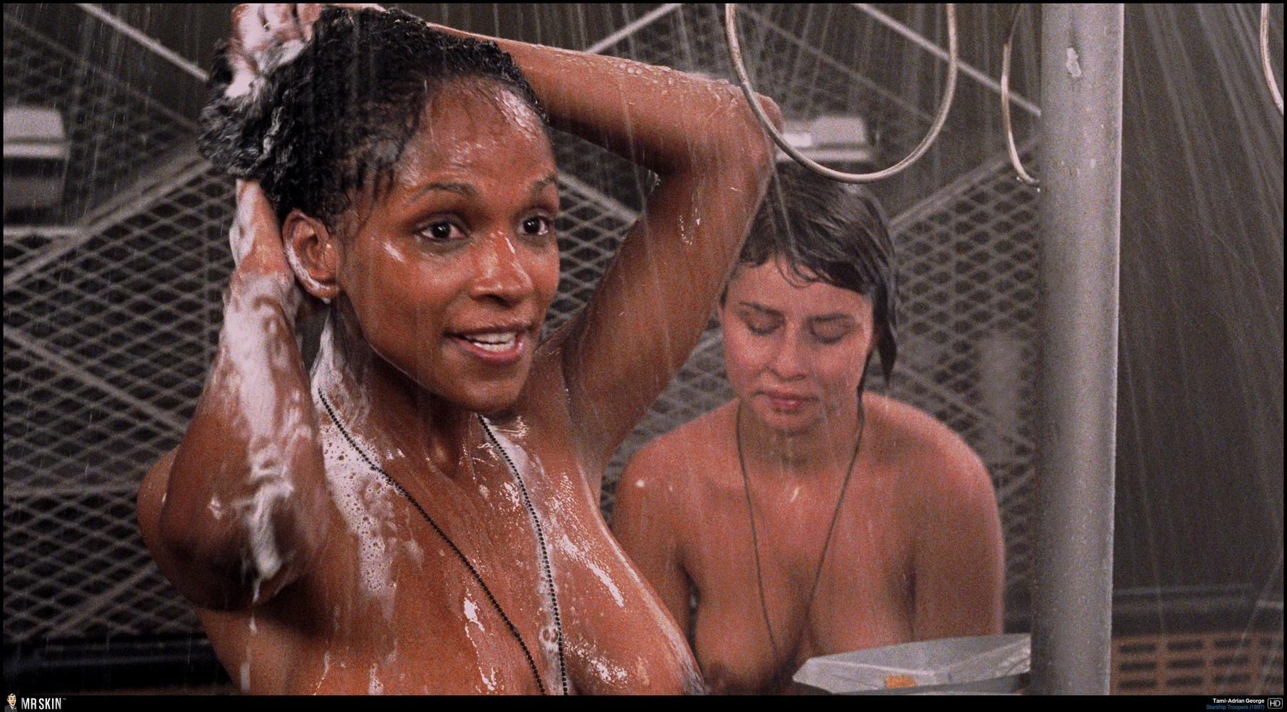 Starship troopers coed shower scene